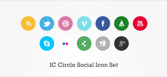 Vibrant Collection Of Fresh And Free Social Media Icon Sets 19