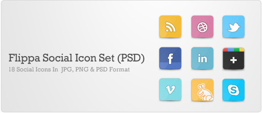 Vibrant Collection Of Fresh And Free Social Media Icon Sets 22