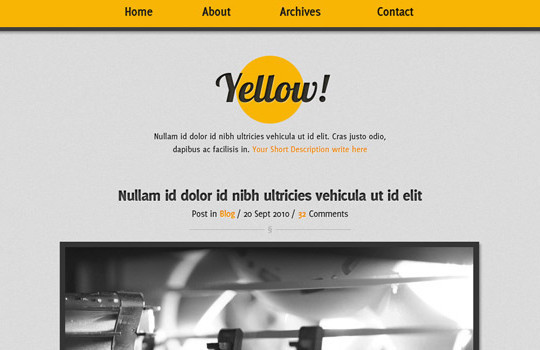 40+ High Quality And Free Web Templates In PSD 24