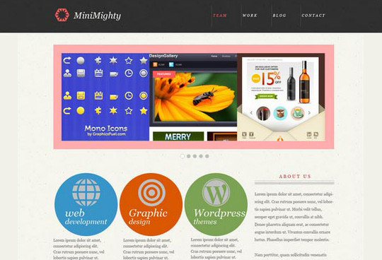 40+ High Quality And Free Web Templates In PSD 17