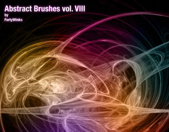 15 Awesome Free Abstract Photoshop Brushes 5