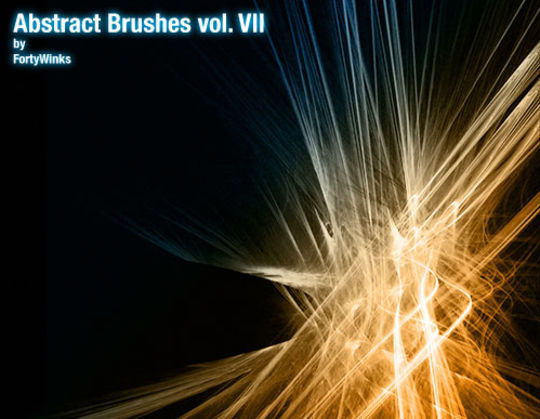 15 Awesome Free Abstract Photoshop Brushes 6