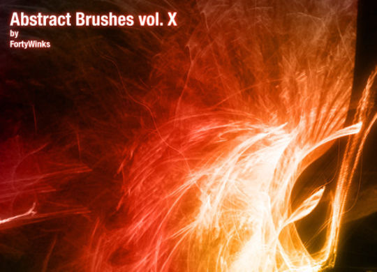 15 Awesome Free Abstract Photoshop Brushes 11
