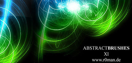 15 Awesome Free Abstract Photoshop Brushes 8