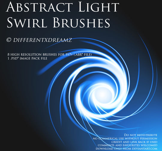 15 Awesome Free Abstract Photoshop Brushes 9