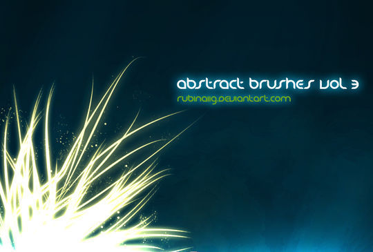 15 Awesome Free Abstract Photoshop Brushes 12