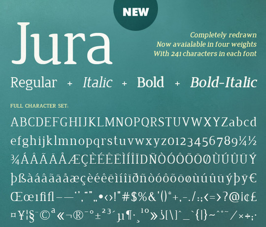 40 Stylish Fonts For Professional Web And Print Design 23