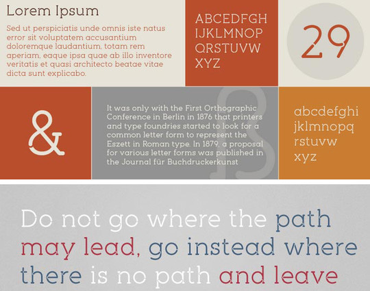 40 Stylish Fonts For Professional Web And Print Design 24