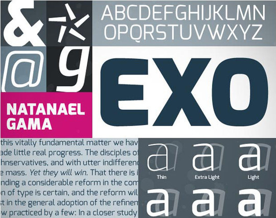 40 Stylish Fonts For Professional Web And Print Design 11