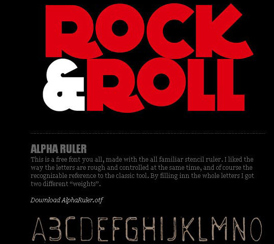 40 Stylish Fonts For Professional Web And Print Design 13