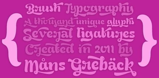 40 Stylish Fonts For Professional Web And Print Design 15