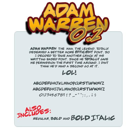 14 High Quality Free Comic Fonts 14