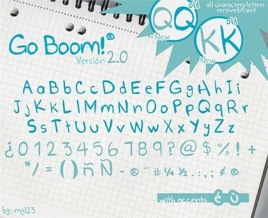 14 High Quality Free Comic Fonts 1