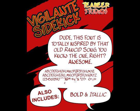 14 High Quality Free Comic Fonts 8