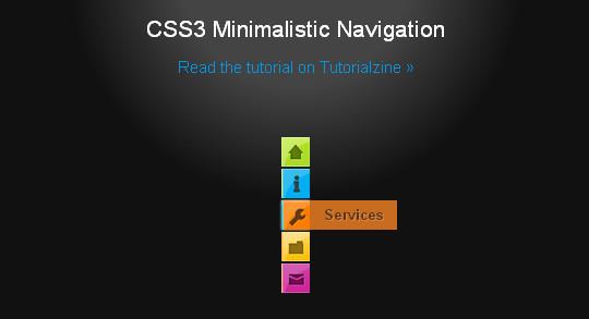 40+ Excellent CSS3 Menu Tutorials 2