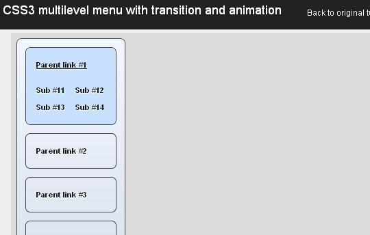 40+ Excellent CSS3 Menu Tutorials 25