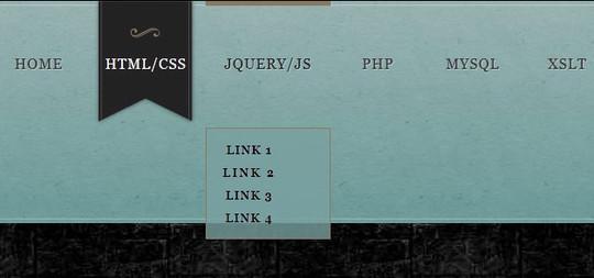 40+ Excellent CSS3 Menu Tutorials 23