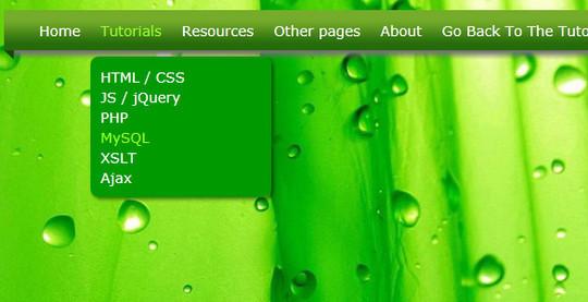 40+ Excellent CSS3 Menu Tutorials 40