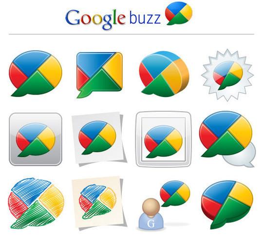 13 Beautiful Free Google Buzz Icons 13