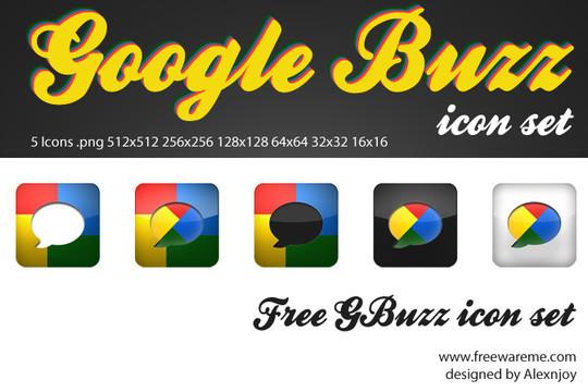 13 Beautiful Free Google Buzz Icons 3