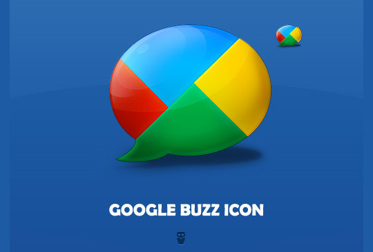 13 Beautiful Free Google Buzz Icons 10