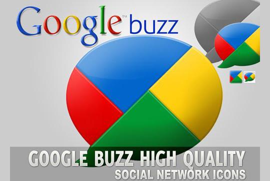 13 Beautiful Free Google Buzz Icons 2