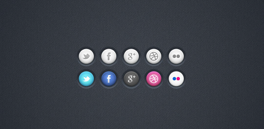 37 Fresh And Free Icon Sets In PSD Format 19