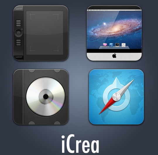 37 Fresh And Free Icon Sets In PSD Format 29