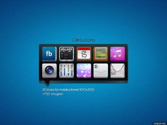 37 Fresh And Free Icon Sets In PSD Format 37