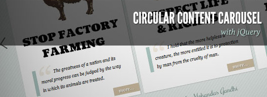 37 Fresh jQuery Image, Content Sliders And Slideshows 14