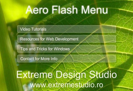 17 Adobe Flash Tutorials For Creating Menus And Navigations 1