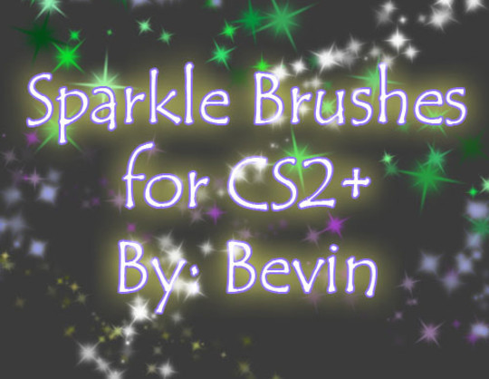 18 Free Yet High Quality Sparkle Photoshop Brush Sets 17
