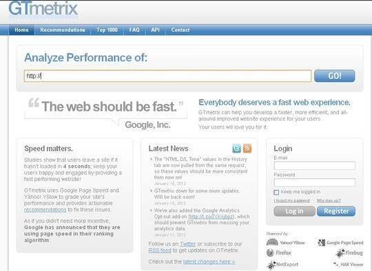15 Excellent Tools For Profiling Your Websites Speed 9
