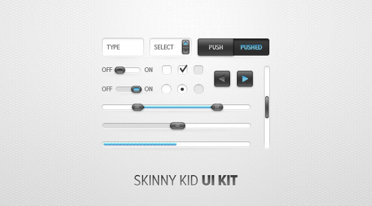 50 Free Web And Mobile UI Element Kits, Wireframe Kits And PSD Files 43