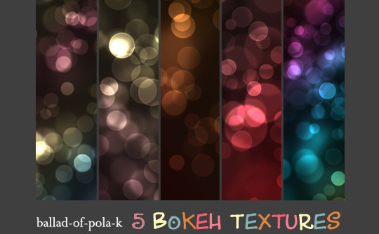 17 Awesomely Creative Bokeh Textures For Your Designs 6