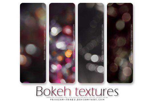 17 Awesomely Creative Bokeh Textures For Your Designs 14