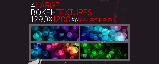 17 Awesomely Creative Bokeh Textures For Your Designs 15