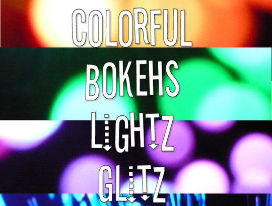 17 Awesomely Creative Bokeh Textures For Your Designs 16
