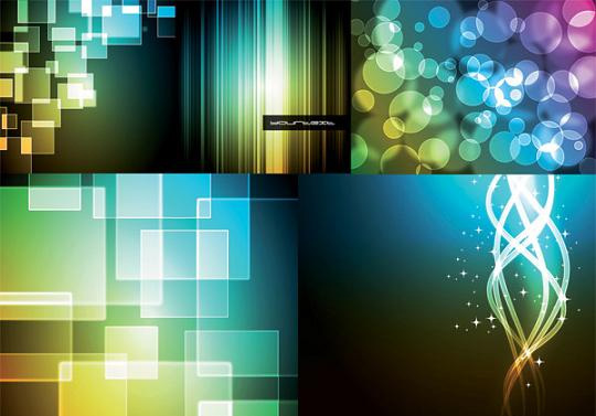 17 Awesomely Creative Bokeh Textures For Your Designs 3