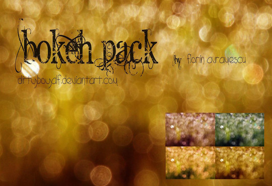17 Awesomely Creative Bokeh Textures For Your Designs 9