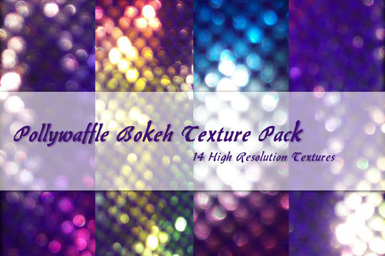 17 Awesomely Creative Bokeh Textures For Your Designs 10