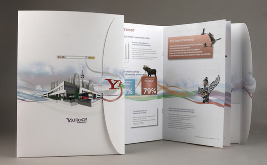 40 Incredibly Creative Brochure Designs For Inspiration 2