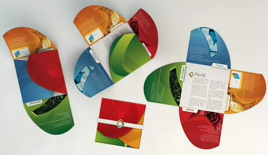 40 Incredibly Creative Brochure Designs For Inspiration 23