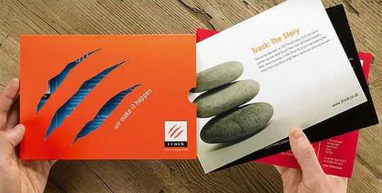 40 Incredibly Creative Brochure Designs For Inspiration 4