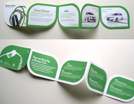 40 Incredibly Creative Brochure Designs For Inspiration 1