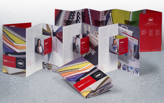 40 Incredibly Creative Brochure Designs For Inspiration 30