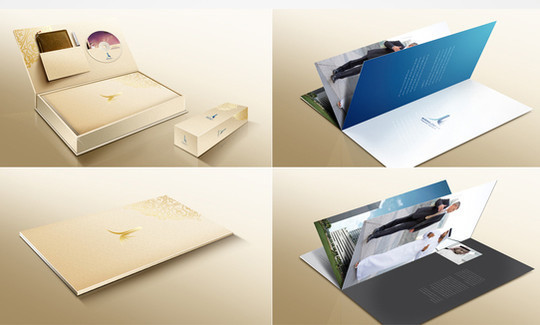 40 Incredibly Creative Brochure Designs For Inspiration 33