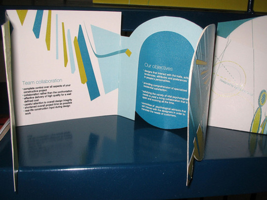 40 Incredibly Creative Brochure Designs For Inspiration 9