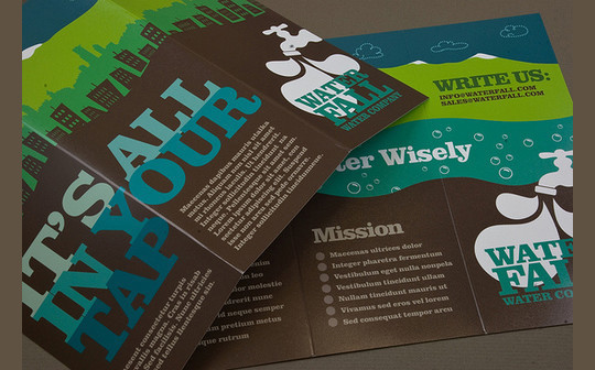 40 Incredibly Creative Brochure Designs For Inspiration 3