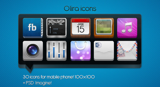 50 Fresh Icon Sets For Developers And Designers 27